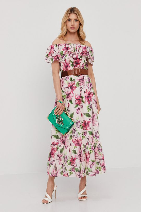 Liu Jo - Sukienka różowy