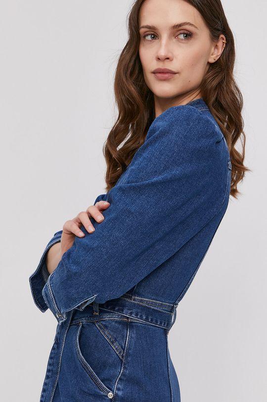 niebieski Pepe Jeans - Sukienka jeansowa Dolly