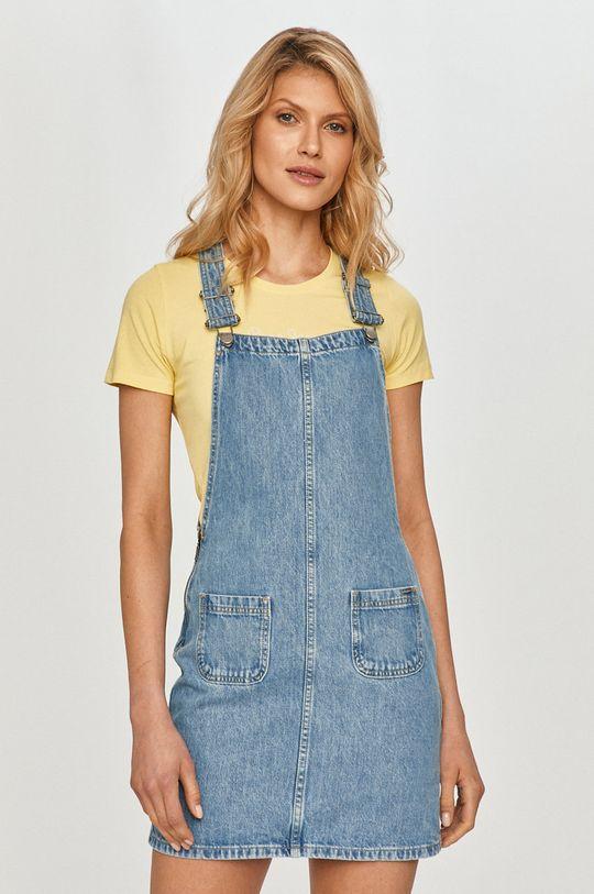 niebieski Pepe Jeans - Sukienka jeansowa Damski