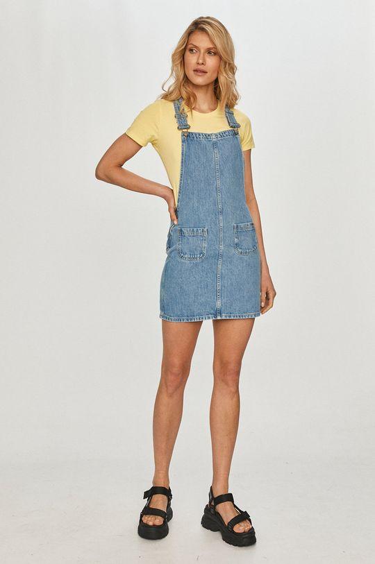 Pepe Jeans - Sukienka jeansowa niebieski