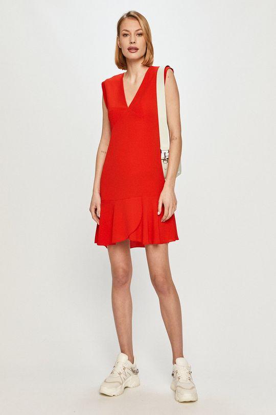 Pepe Jeans - Šaty Kate červená
