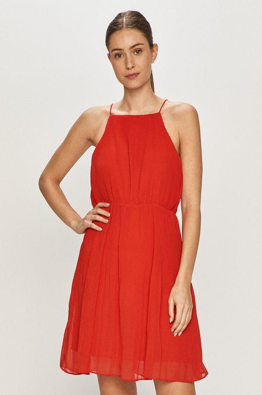 czerwony Pepe Jeans - Sukienka Mine Damski