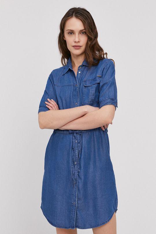 niebieski Pepe Jeans - Sukienka Glaze Damski