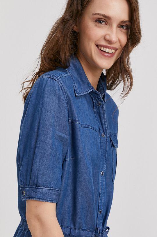 niebieski Pepe Jeans - Sukienka Glaze