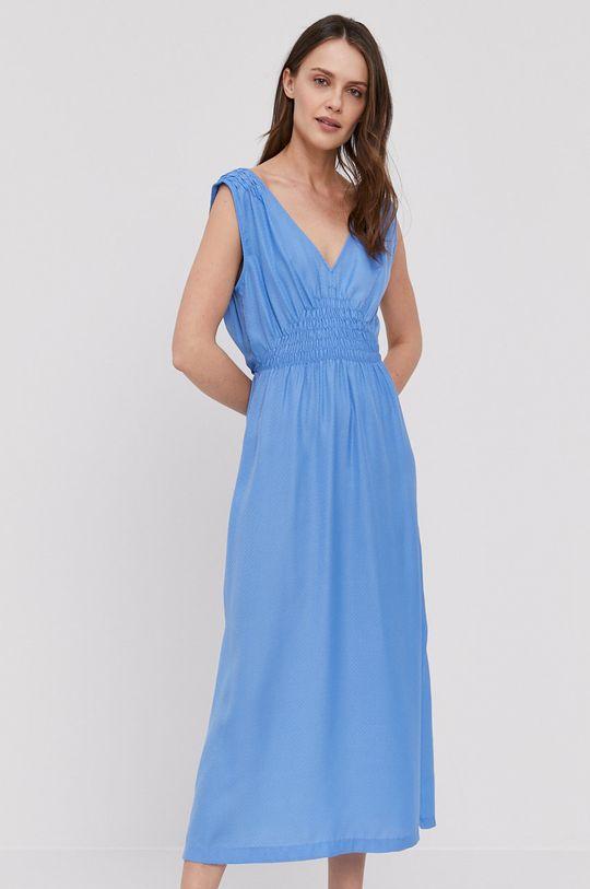 Pepe Jeans - Šaty Liliana modrá