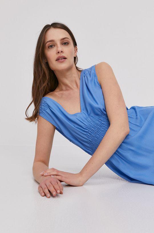 modrá Pepe Jeans - Šaty Liliana