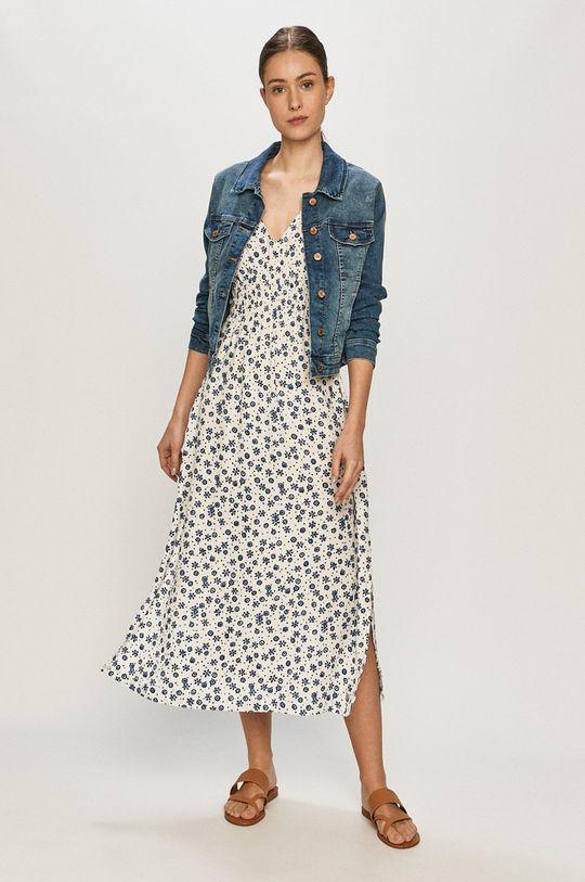 Pepe Jeans - Šaty Lou biela