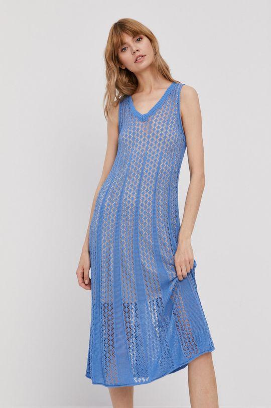 niebieski Pepe Jeans - Sukienka Lara Damski