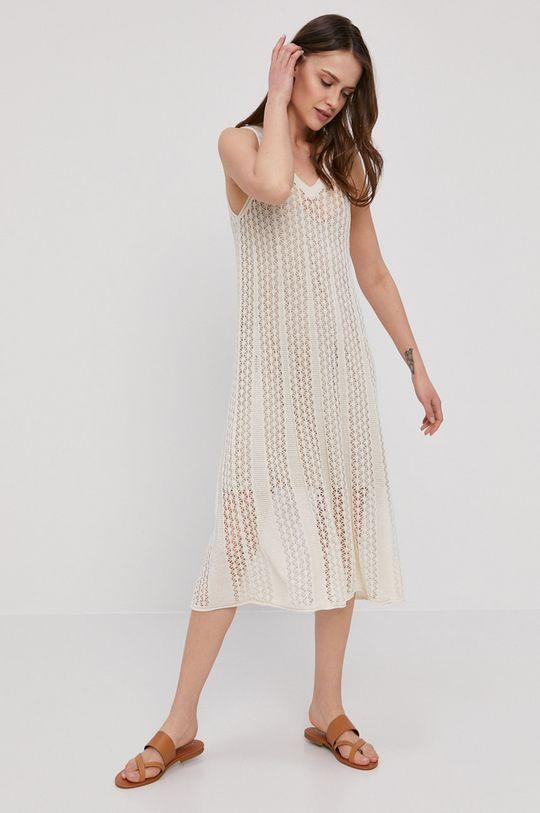kremowy Pepe Jeans - Sukienka Lara