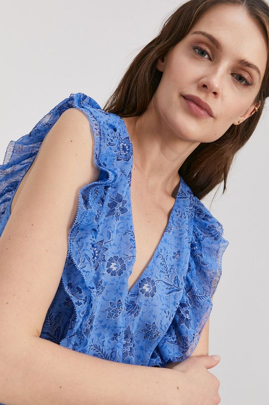 modrá Pepe Jeans - Šaty Marietas