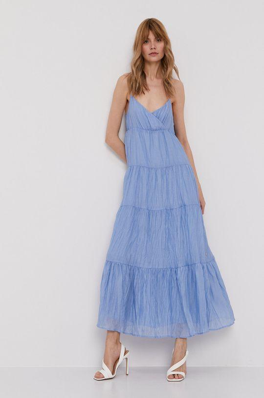 Pepe Jeans - Šaty Anae světle modrá