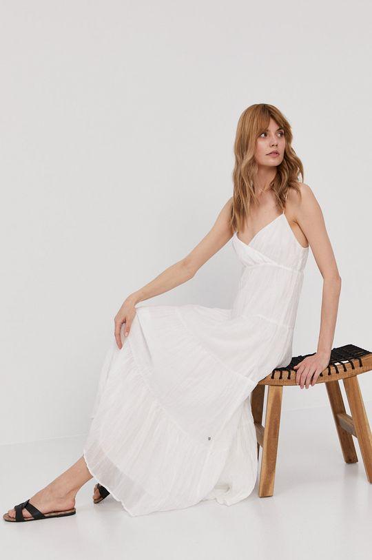biela Pepe Jeans - Šaty Anae Dámsky