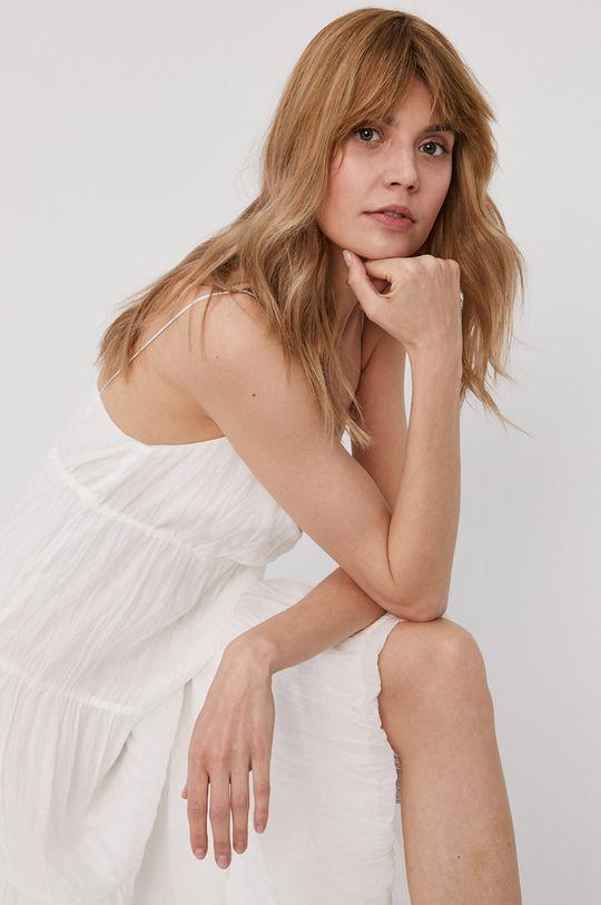 biela Pepe Jeans - Šaty Anae