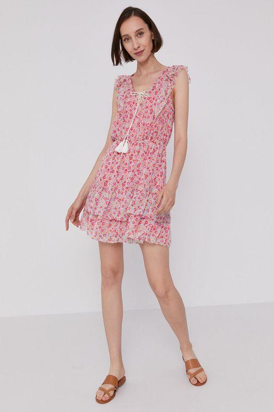 Pepe Jeans - Šaty CHABELAS ružová