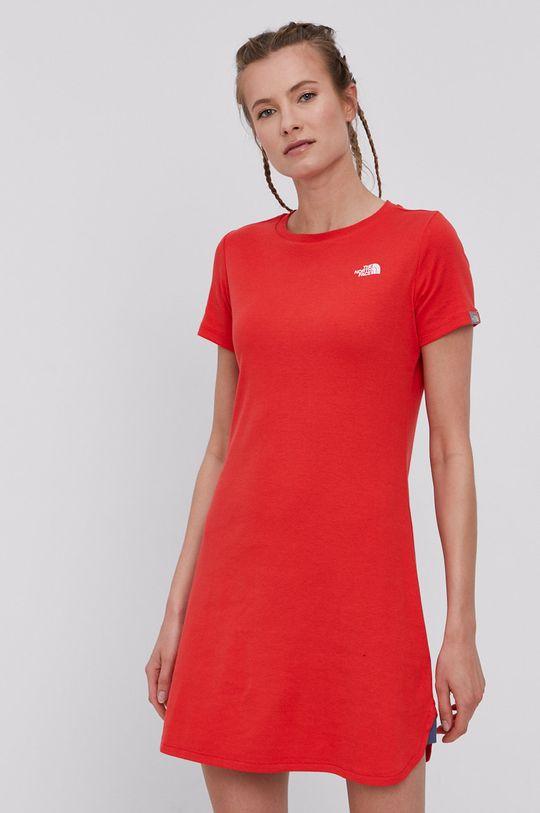 The North Face - Šaty červená