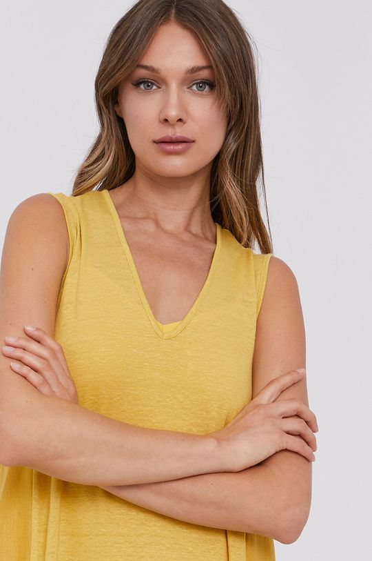 žltá MAX&Co. - Šaty