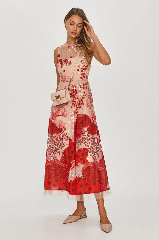 červená Red Valentino - Šaty Dámsky