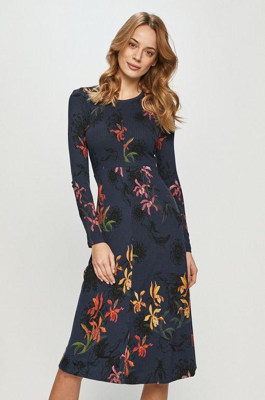 granatowy Desigual - Sukienka