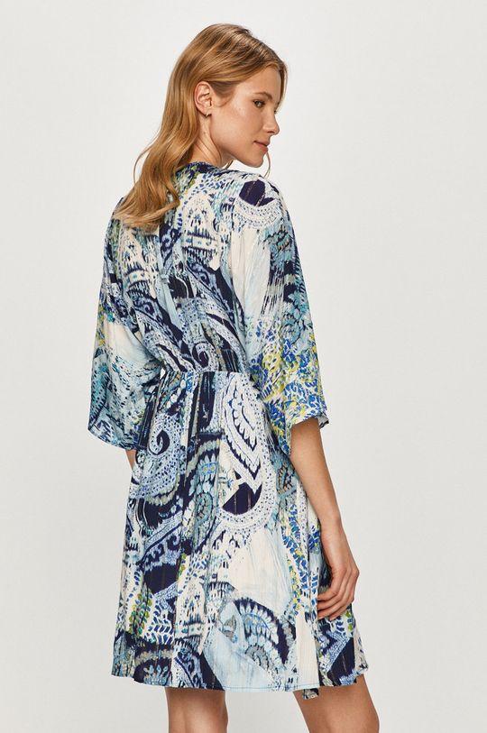 Desigual - Sukienka Podszewka: 100 % Poliester, Materiał zasadniczy: 98 % Wiskoza, 2 % Włókno metaliczne
