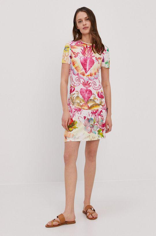 Desigual - Šaty viacfarebná