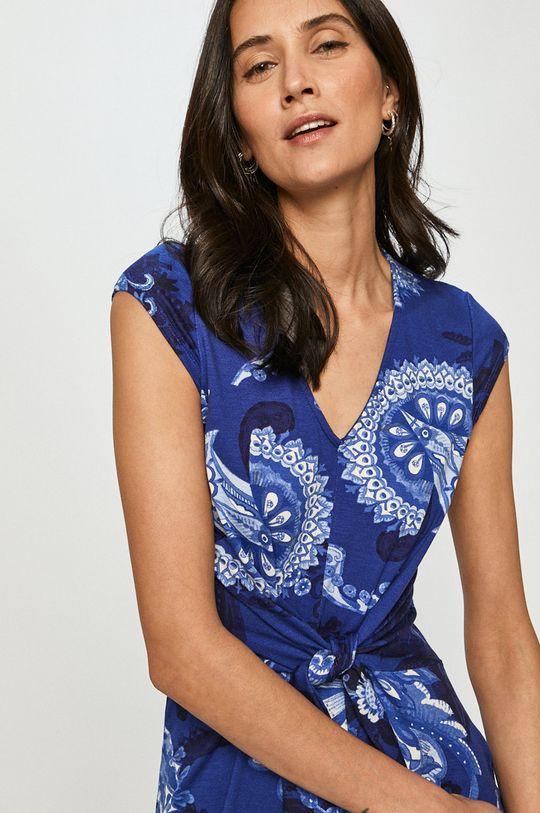 modrá Desigual - Šaty