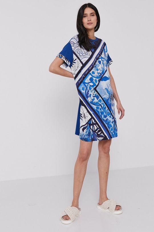 Desigual - Sukienka niebieski