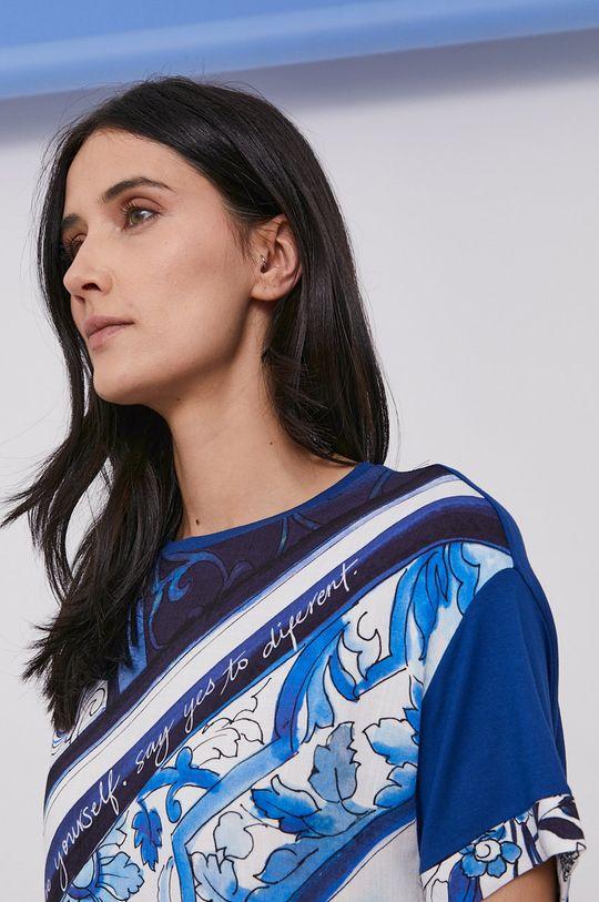 niebieski Desigual - Sukienka