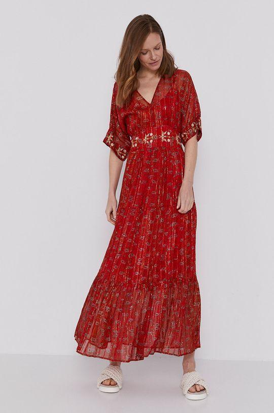 Desigual - Šaty červená