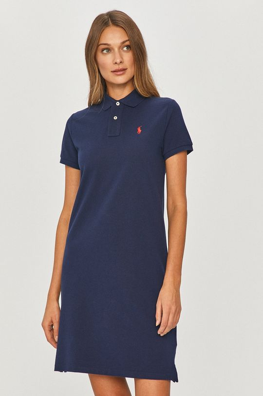 modrá Polo Ralph Lauren - Šaty Dámsky
