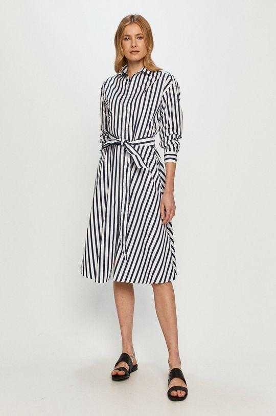 Polo Ralph Lauren - Šaty tmavomodrá