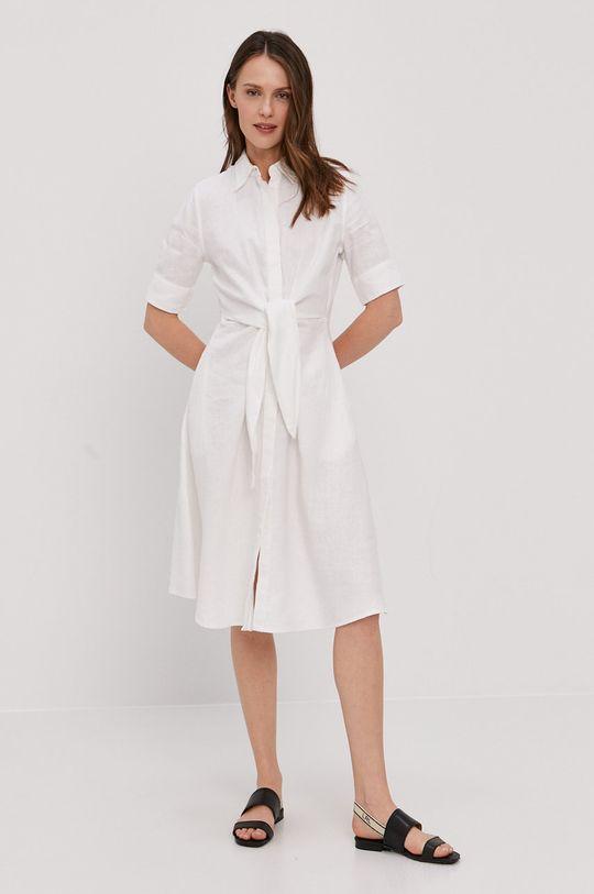 Lauren Ralph Lauren - Sukienka biały