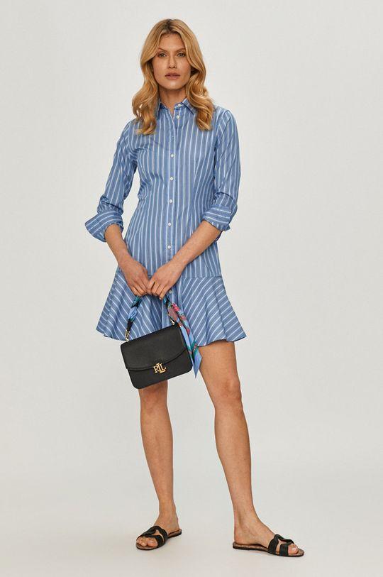 Lauren Ralph Lauren - Sukienka niebieski