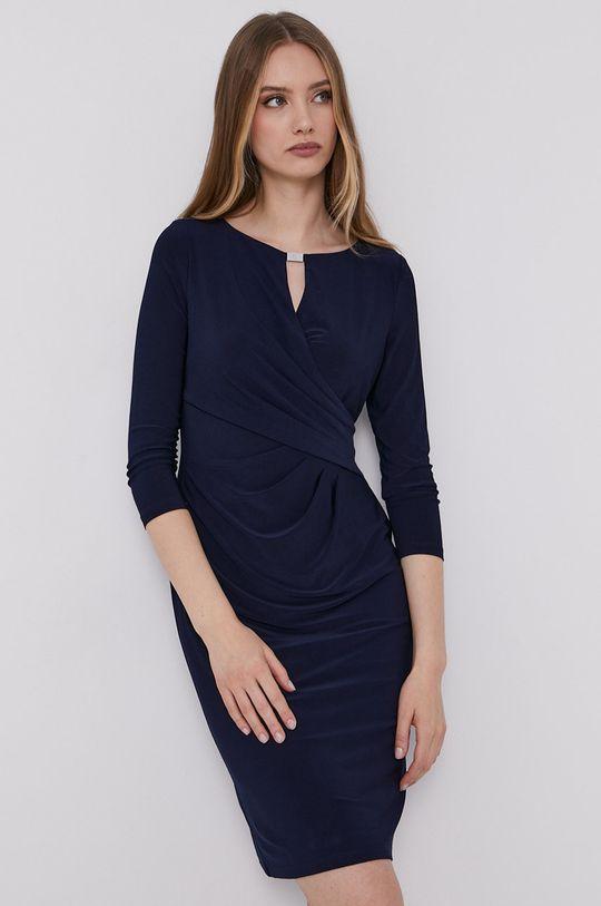 granatowy Lauren Ralph Lauren - Sukienka