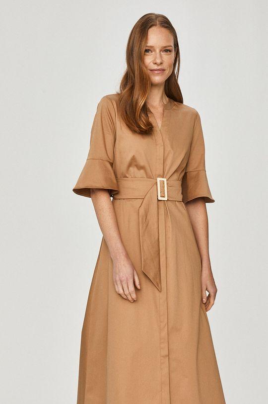 złoty brąz Pennyblack - Sukienka