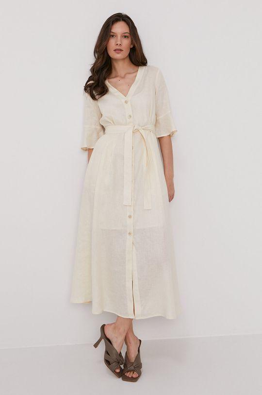 Pennyblack - Sukienka kremowy