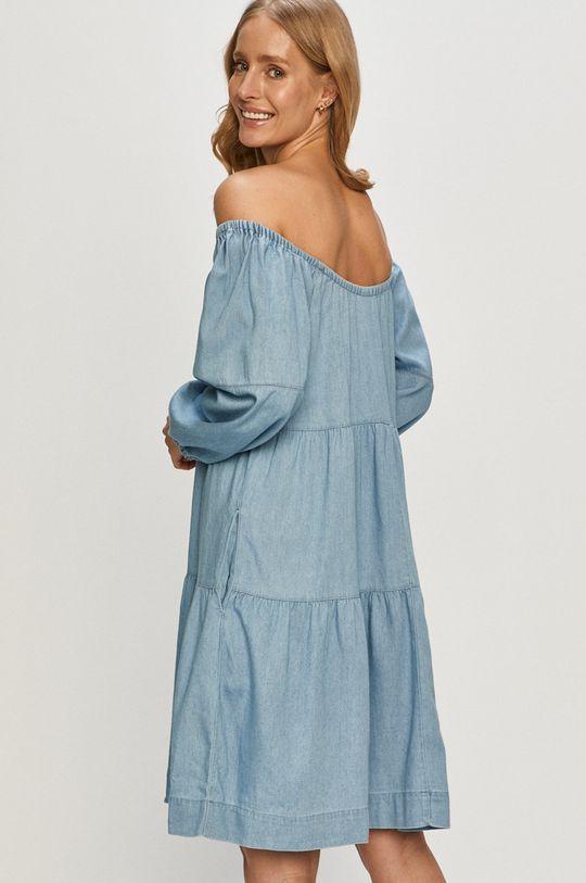 niebieski Vila - Sukienka Damski