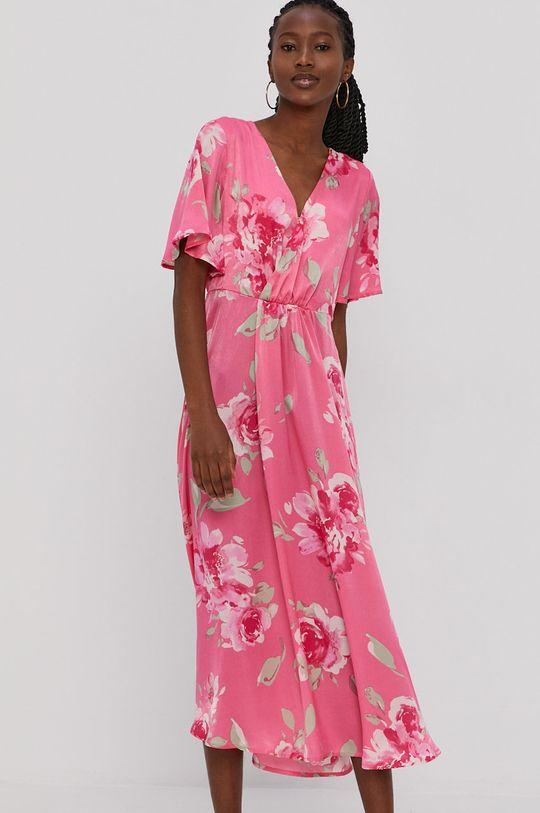 ostry różowy Vila - Sukienka Damski