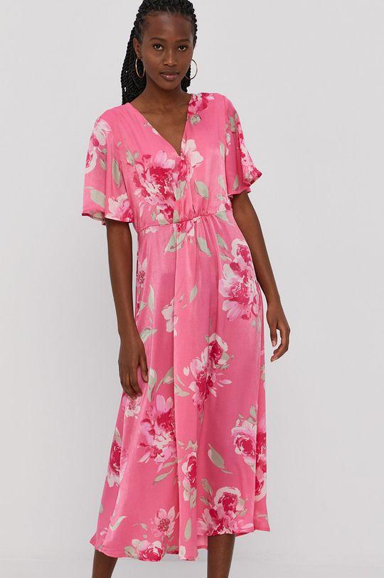 ostry różowy Vila - Sukienka