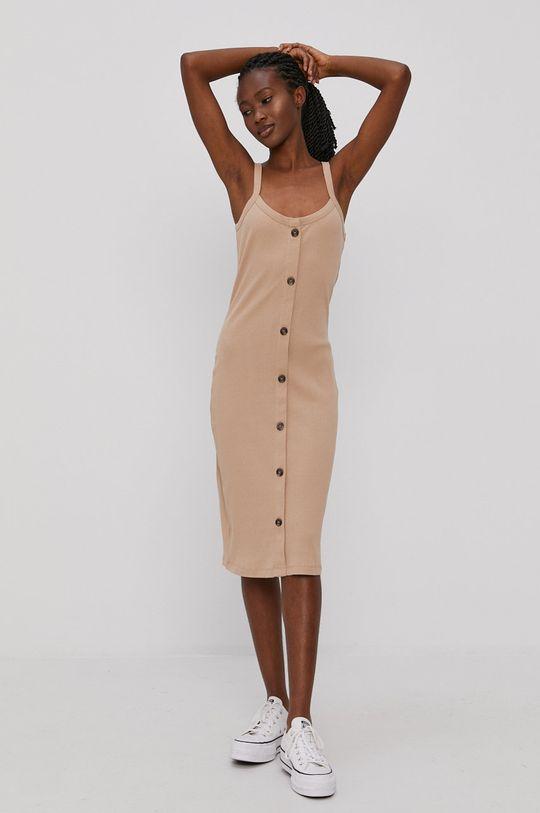 Vero Moda - Šaty písková