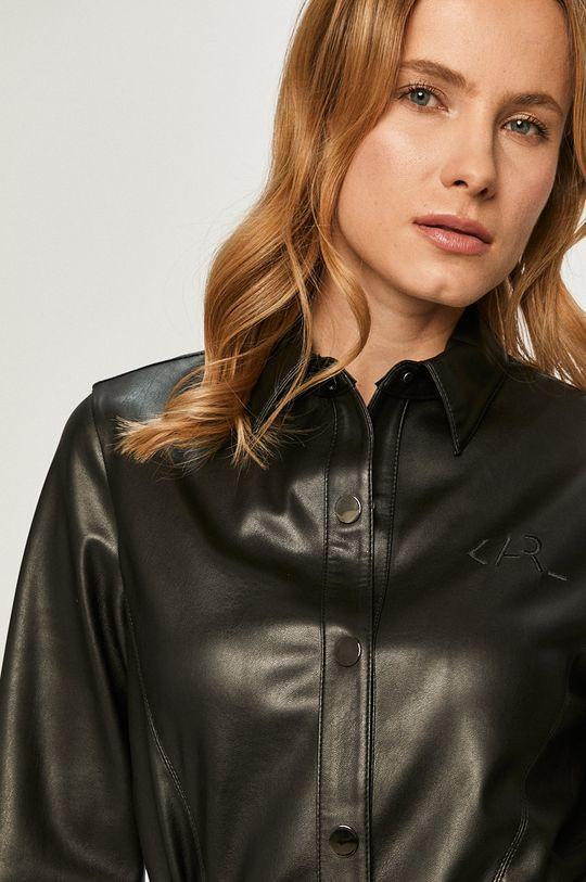 czarny Karl Lagerfeld - Sukienka