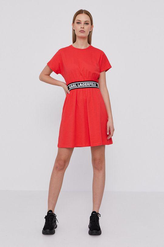Karl Lagerfeld - Šaty červená
