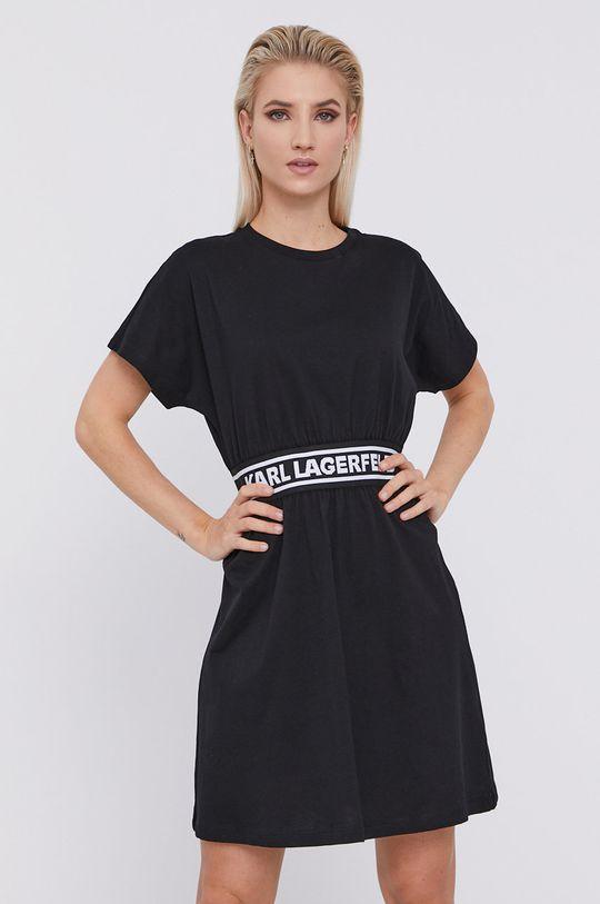 Karl Lagerfeld - Rochie negru