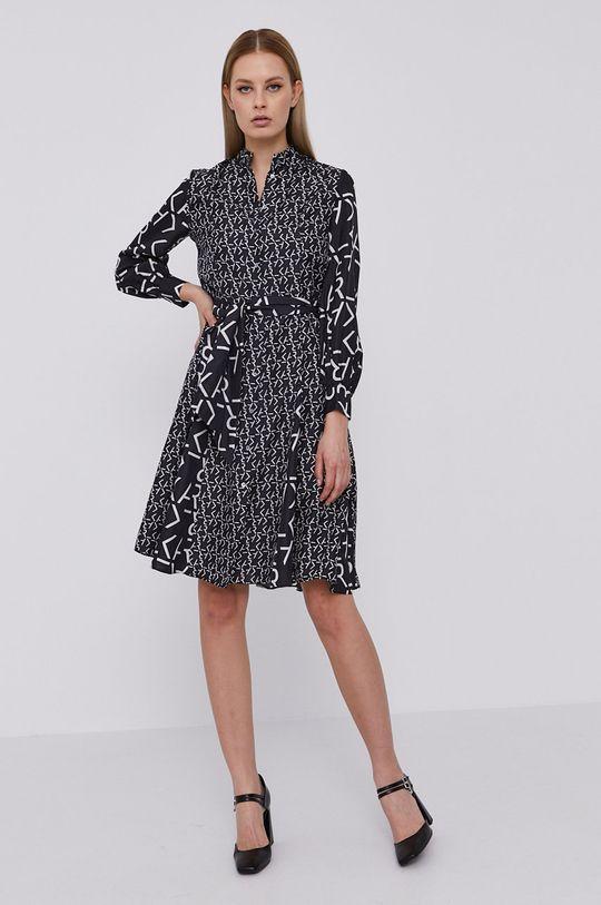 Karl Lagerfeld - Šaty černá