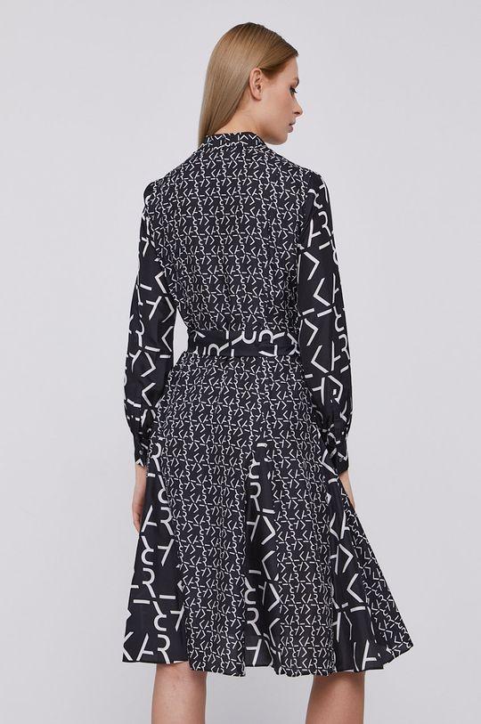 Karl Lagerfeld - Šaty  100% Hedvábí
