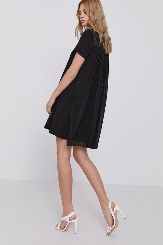 czarny Karl Lagerfeld - Sukienka Damski