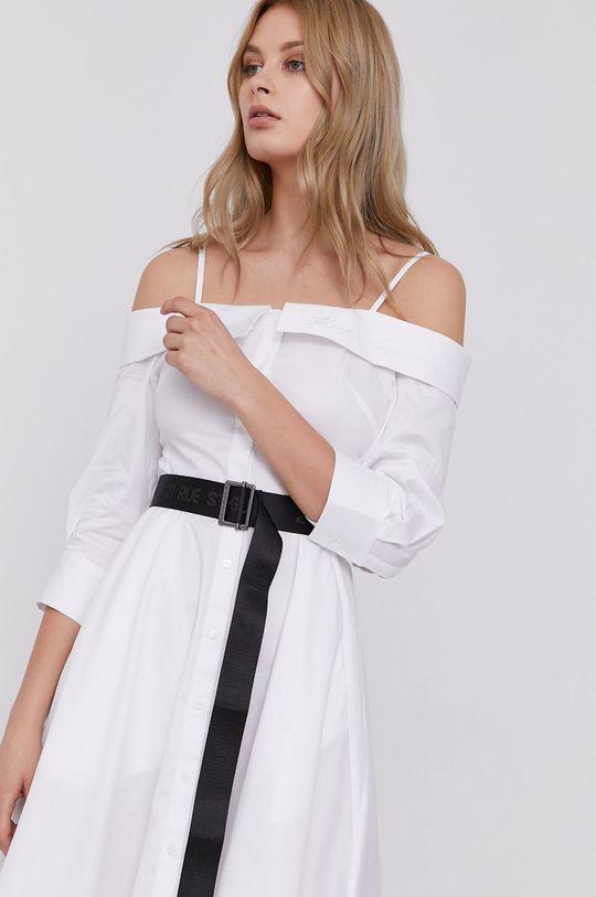 biały Karl Lagerfeld - Sukienka