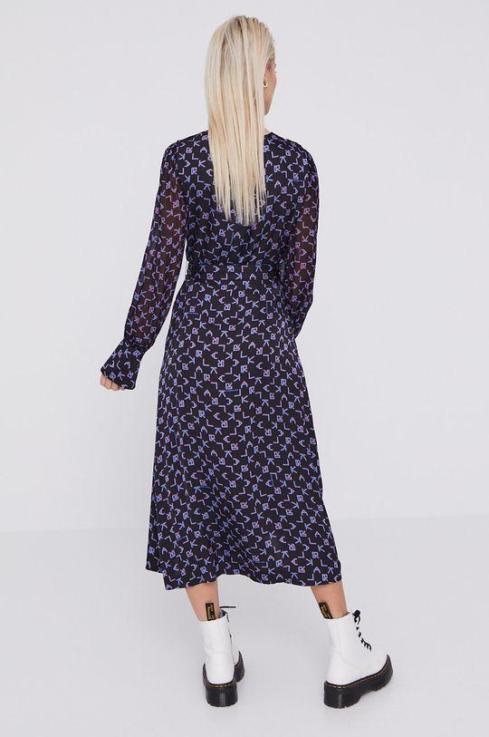 Karl Lagerfeld - Sukienka 100 % Wiskoza, Podszewka: 100 % Poliester z recyklingu