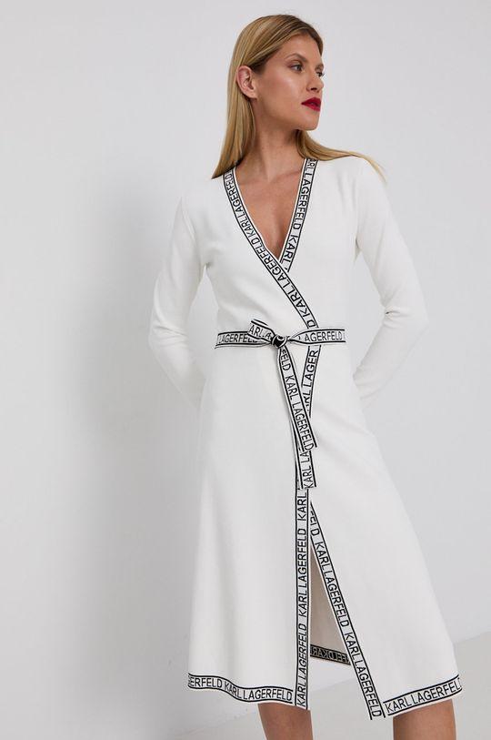 biały Karl Lagerfeld - Sukienka Damski