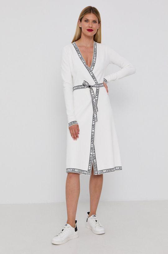 Karl Lagerfeld - Sukienka biały