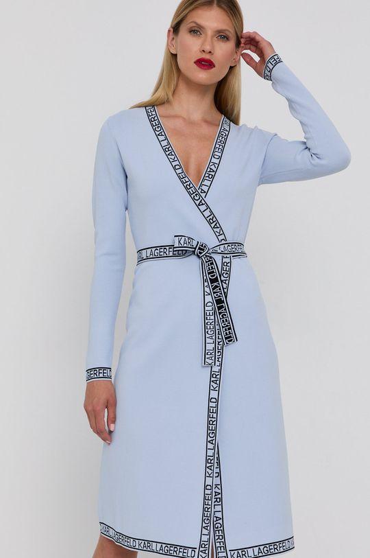jasny niebieski Karl Lagerfeld - Sukienka Damski